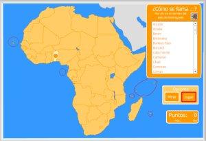 Paises De Africa Mapa Interactivo.Africa Mapas Interactivos Enrique Alonso Juegos