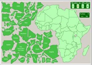 frica  Mapas interactivos  Enrique Alonso Juegos didcticos