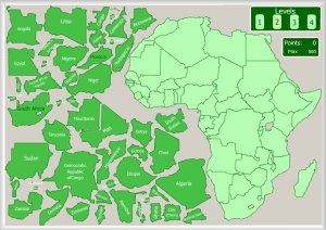 Africa   Interactive maps by Enrique Alonso