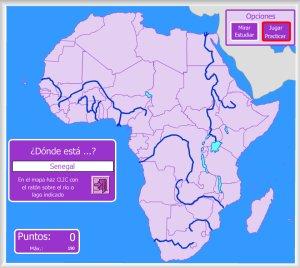 Mapa Fisico De Africa Interactivo.Africa Mapas Interactivos Enrique Alonso Juegos