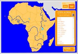Worksheet. frica  Mapas interactivos  Enrique Alonso Juegos didcticos