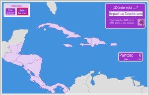 Mapa Interactivo America Fisico.America Mapas Interactivos Enrique Alonso Juegos