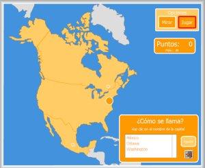 América Mapas Interactivos Enrique Alonso Juegos Didácticos Para Aprender Geografía