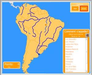 Carte Amerique Latine Avec Fleuves.Amerique Cartes Interactives D Enrique Alonso
