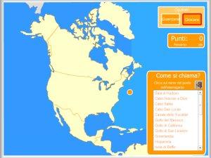 Cartina Fisica Del Nord America.America Mappe Interattive Enrique Alonso