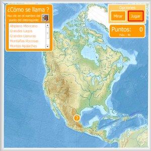 América Mapas Interactivos Enrique Alonso Juegos