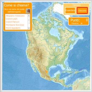 Cartina Muta Delle Americhe.Spagna Cartina Muta Fisica
