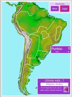 Amrica  Mapas interactivos  Enrique Alonso Juegos didcticos