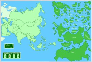 Asia Mapas interactivos  Enrique Alonso Juegos didcticos para