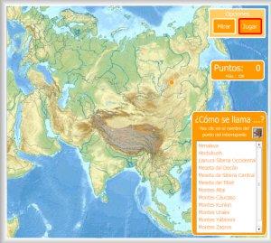 Mapa Fisico De Asia Interactivo.Asia Mapas Interactivos Enrique Alonso Juegos Didacticos Para Aprender Geografia