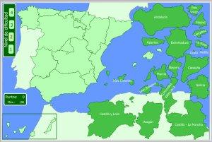 España Mapas Interactivos Enrique Alonso Juegos Didácticos Para