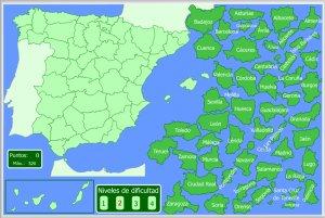 Mapa Rios España Interactivo.Espana Mapas Interactivos Enrique Alonso Juegos