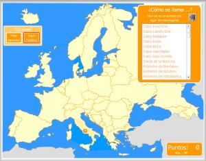 Europa Y Union Europea Mapas Interactivos Enrique Alonso