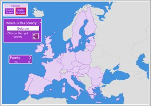 Interactive Europe Map.Europe And European Union Interactive Maps By Enrique Alonso