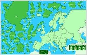 Europa Y Unión Europea Mapas Interactivos Enrique Alonso Juegos