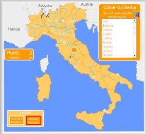 Cartina Italia Interattiva Html.Italia Mappe Interattive D Enrique Alonso