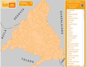 Mapa Terminos Municipales Madrid.Comunidad De Madrid Mapas Interactivos Enrique Alonso