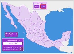 Mxico  Mapas interactivos  Enrique Alonso Juegos didcticos