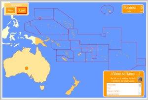 Oceanía Y Australia Mapas Interactivos Enrique Alonso Juegos Didácticos Para Aprender Geografía