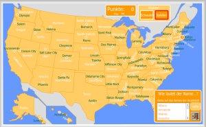 Usa Staaten Karte Mit Hauptstädten.Vereinigte Staaten Interaktive Karten Enrique Alonso