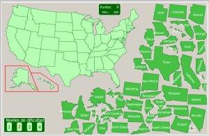 USA  Mapas interactivos  Enrique Alonso Juegos didcticos